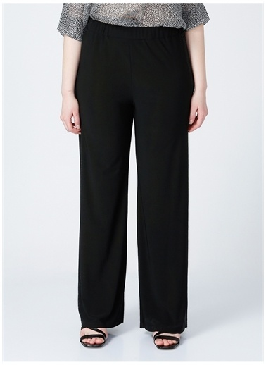 Selen Selen Kadın Siyah Pantolon Siyah